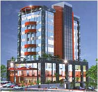 High-end commercial space in Kochi, Kerala, Office space for sale Kerala, Eranakulam, Shopping centre