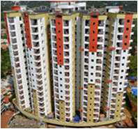 Flats and Apartments Kakkanad, Cochin, Eranakulam Homes, Infra Vantage